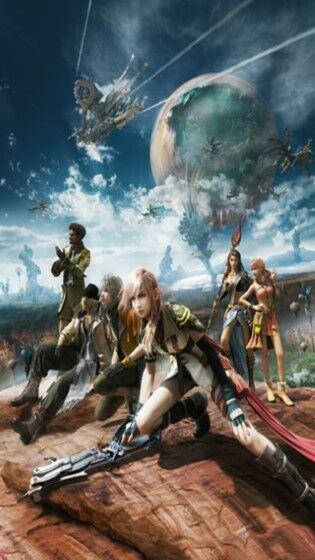 Wallpaper Final Fantasy Phone2 952d9