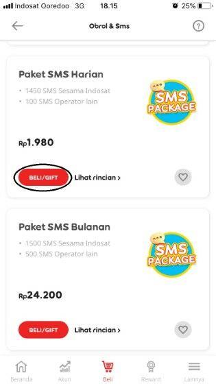 Cek Paket Sms Indosat 03c10