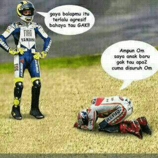 Meme Lucu Rossi Marquez 17