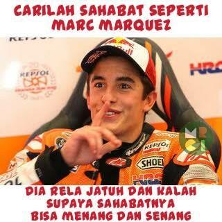 Meme Lucu Rossi Marquez 2
