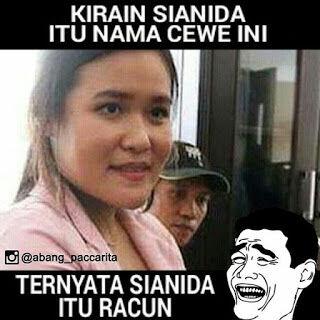 Meme Jessica Wongso Kopi Sianida 14
