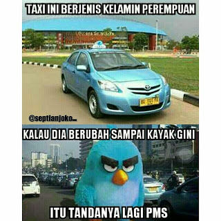Meme Demo Taksi Blue Bird 11