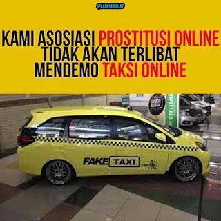 Meme Demo Taksi Blue Bird 12