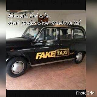Meme Demo Taksi Blue Bird 5
