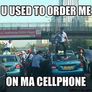 Meme Demo Taksi Blue Bird 6