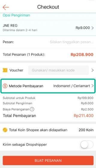 Cara Pembayaran Shopee Di Indomaret C751d