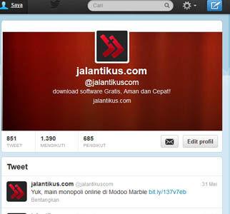 Cara Mudah Mengganti Profile Picture Di Twitter 1