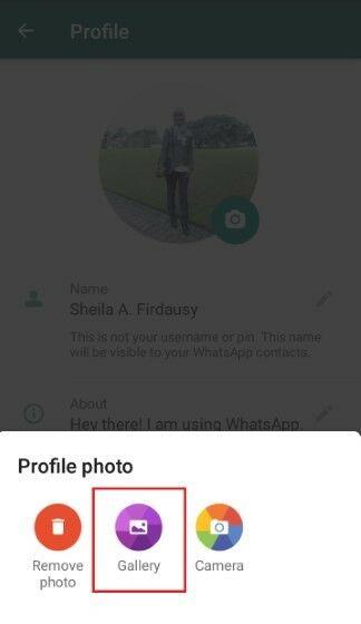 Cara Mengganti Profil Whatsapp 94162