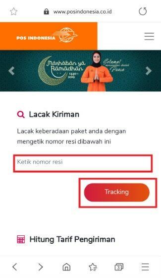 Cek Resi Di Website Pos Indonesia 07661