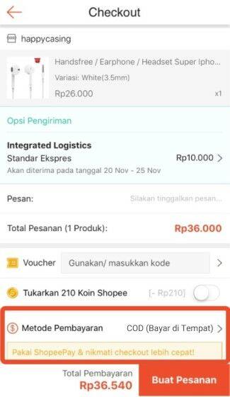 Cara Membayar Belanja Shopee Cod 2283c
