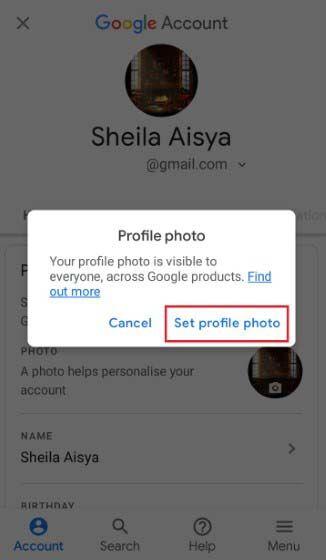 Cara Mengganti Foto Profil Gmail Di Android 592ca