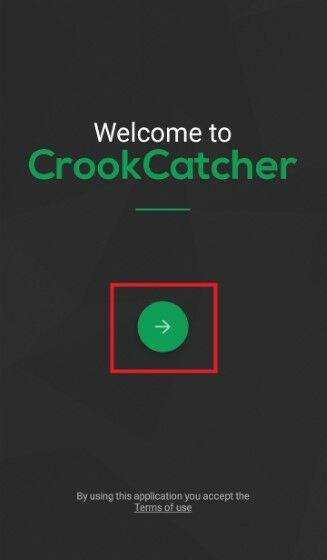 Langkah Satu Aplikasi Crook Catcher A833f