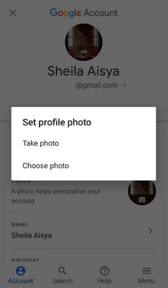 Cara Mengganti Foto Profil Gmail Lewat Hp D2178