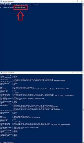 Cara Menghapus Aplikasi powershell 2 (Custom)