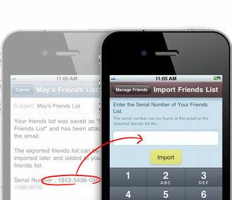 Fitur KakaoTalk Export Import Friend List