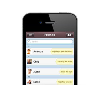 Fitur KakaoTalk Finding Chat Friend Automatically
