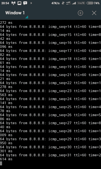 Mempercepat Koneksi Internet Menggunakan Aplikasi Terminal Emulator 404bf