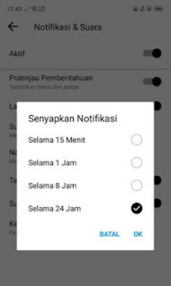 Cara Menonaktifkan Messenger Facebook 7348d