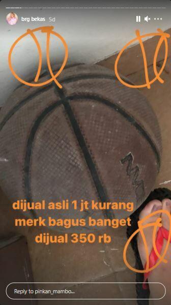 Bola Basket Pinkan Mambo Rp350 Ribu F0be4