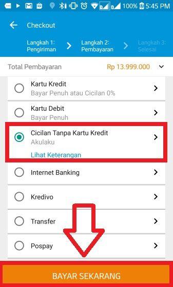 Cara Kredit Akulaku 6 14b16