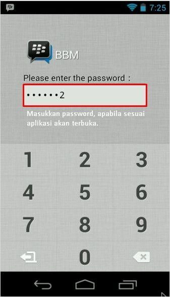 Cara Mengunci Melindungi App 5