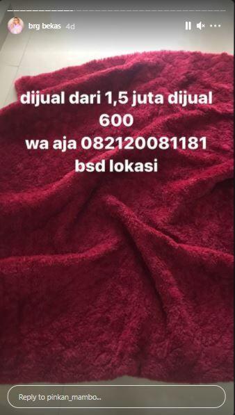 Karpet Pinkan Mambo Rp600 Ribu C8beb