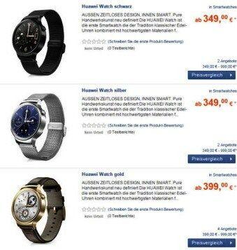 Harga Huawei Watch