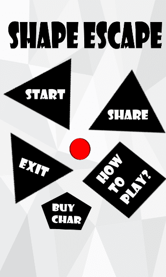 Shape Escape Local Games