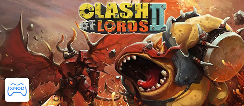 MOD Baru Clash of Lords 2 di Android dengan Xmodgames