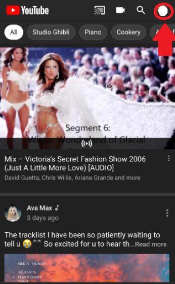 Cara Ganti Profil Youtube Lewat Hp 2020 E0379