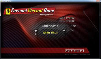 Download Ferrari Virtual Race Di Jalan Tikus 1