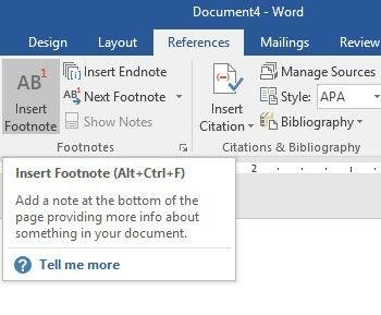 Cara Membuat Footnote Langkah Kedua 1851a
