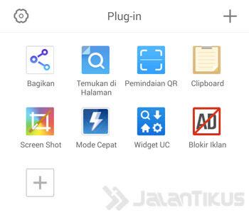 Uc Browser Banyak Add On