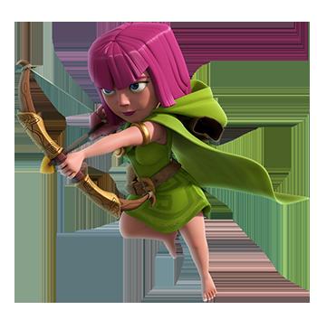 Archer Clash Of Clans 2