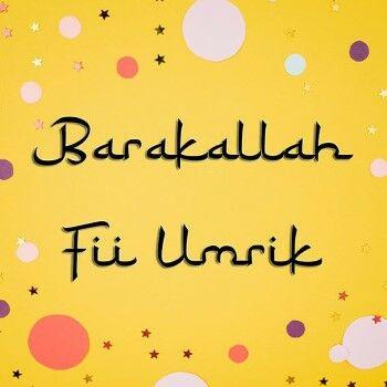 Ucapan Ulang Tahun Islami Barakallah 42a54