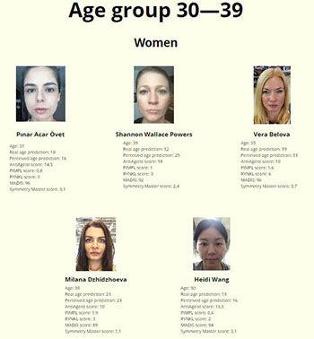 Kontes Kecantikan Dengan Juri Robot Usia 30 Wanita