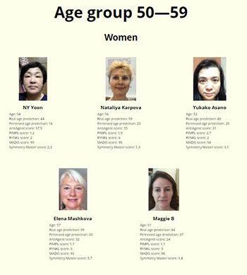 Kontes Kecantikan Dengan Juri Robot Usia 50 Wanita