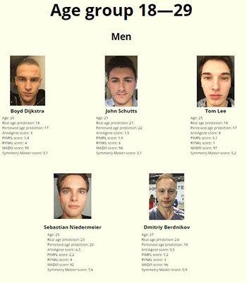 Kontes Kecantikan Dengan Juri Robot Usia 18 Pria