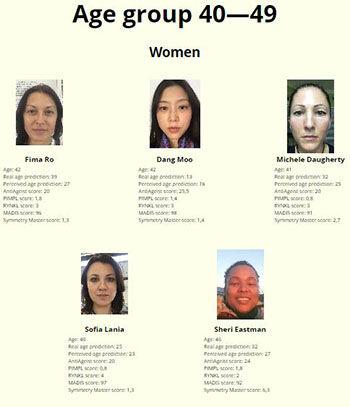Kontes Kecantikan Dengan Juri Robot Usia 40 Wanita