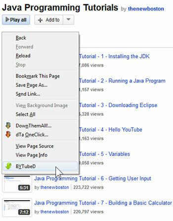 Cara Download Video Dari Playlist Youtube 2