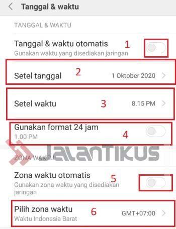 Cara Mengubah Zona Waktu Di Samsung 12c3f