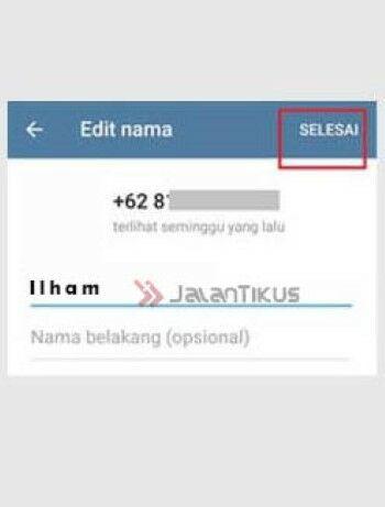 Cara Mengganti Nama Orang Di Telegram 9e407