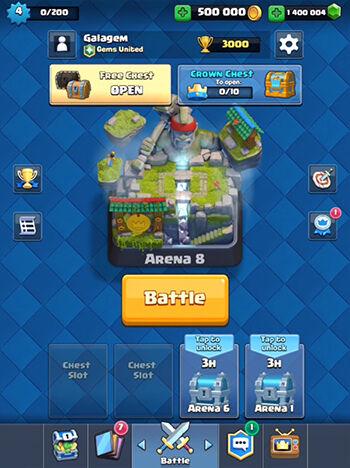 130 Juta Hanya Untuk Beli Super Magical Chest Clash Royale 1