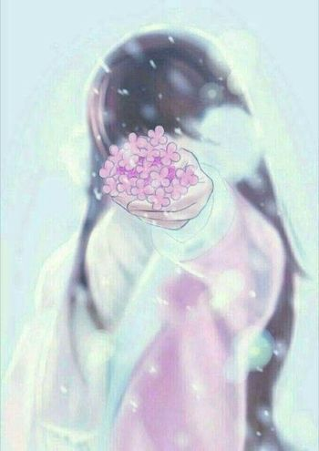 Foto Profil WA Couple Sweet Flowers 1 Dcc53