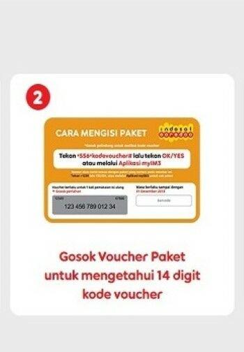 Cara Membuat Voucher Indosat 01175