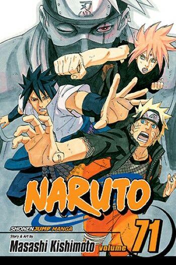Komik Jepang Naruto Custom D014e