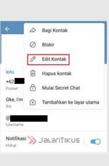 Cara Mengubah Nama Kita Di Telegram B8296