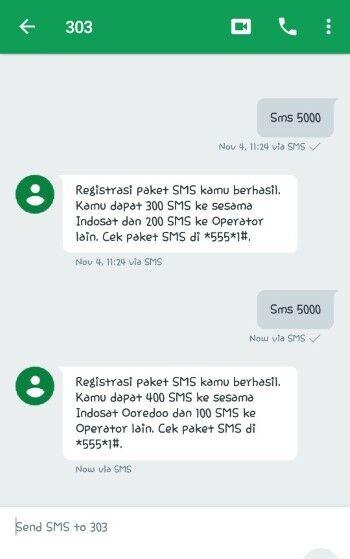 Paket Sms Indosat Bulanan 2020 886f7