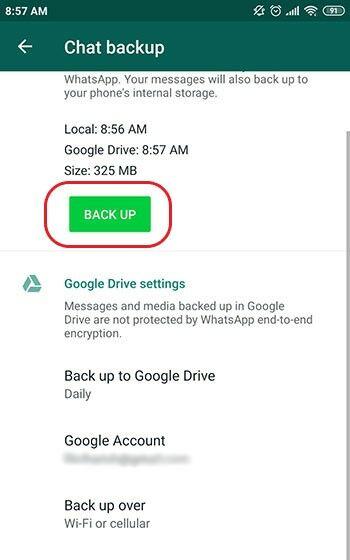 Cara Mengembalikan Chat Whatsapp Yang Terhapus Di Android 89447