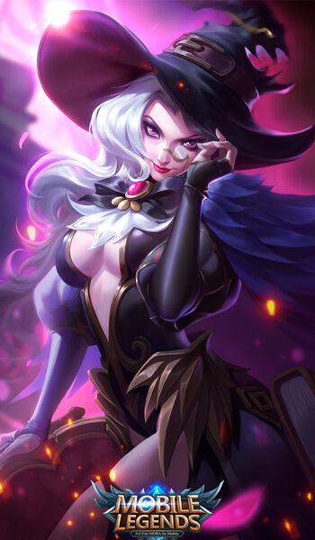 Mobile Legends Alice Wizardry Teacher Skin Ac469
